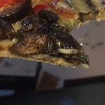 Maggot in pizza