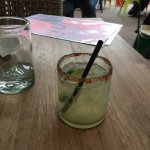 This is a $12 spicy margarita.  About 6oz.