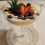 White Chocolate Ice cream with Berries!