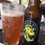 Fish dip, calamari, and some FL beer