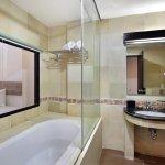 Bathtub and Rain Shower