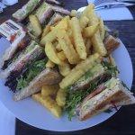 Immense (vegetarian) sandwich. Delicious.