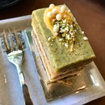 pistachio lemon cake (was ok)