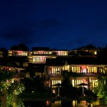 Tirta Room View in the Night