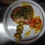 Restaurant le Rouget, les plats du jour