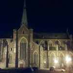 Abbey of Val Dieu by night!