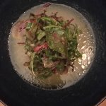 Vegetarian meals at Texture for dinner in June