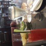 Cocktails at brunch