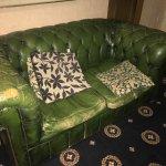Sofa in public rooms