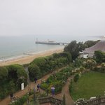 View of Bournemouth Pier from East Cliff