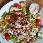 Bar-B-Q Pulled Pork Salad
