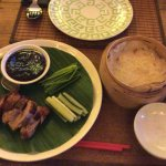 Delicious Peking Duck, small serve sufficient for two