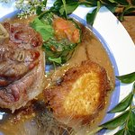 Jarret de veau au camembert