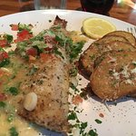 Mediterranean Sea Bass with roasted potatoes