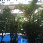 Photo from our Cabana room's balcony
