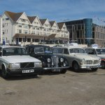 We were part of a group of classic Police cars attending the Internationa Motor Festival