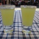 Complimentary limoncello for regular customers ;)