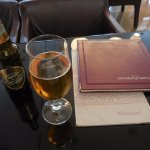 Elegant terrace lounge of Hotel Vardar in the Montenegro Main Square