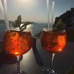 Aperol Spritz at Sunset