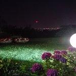 giardino in notturna