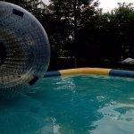 water zorbing
