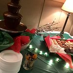 Saturday Night Complimentary Chocolate Fountain