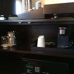 coffee maker, safe