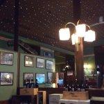 Charming restaurant. I loved the little lights on the ceiling.