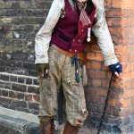 Dickens Festival character