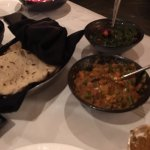 romali roti and curries