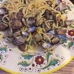 Uno spaghetto alle vongole fantastico