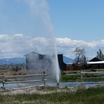 geyser near Lakeview OR