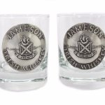 Irish Whiskey Jameson Glasses and lots of unique barware items!