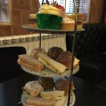 Lovely afternoon tea, very fresh sandwiches and hit scones