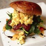 Chorizo Brioche, Breakfast & Brunch at Gallaghers.