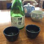 Dégustation de saké froid au Café Japonais