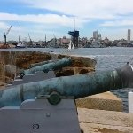 Gun-powdered Cannons at Fort Denison