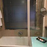 Bañera con cristalera