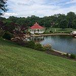 Pond with Gazebo