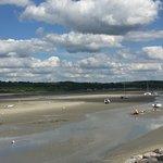Ballade à la canche à marée basse