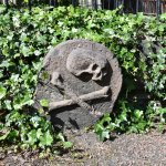 One of the many eye-catching and elaborate graves you'll see on the tour.