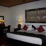 Nice room but very dark!