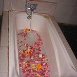 Spa bath..