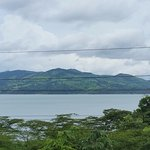 Lake Arenal from room balcony