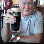 Me enjoying a good Guinness