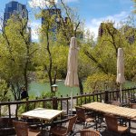 River Cafe outdoor area