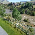 Yellowstone River as seen from our balcony
