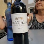 our bottle of wine