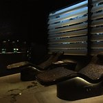 heated hammam beds in the spa area