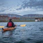 Kayaking Puerto Bories.